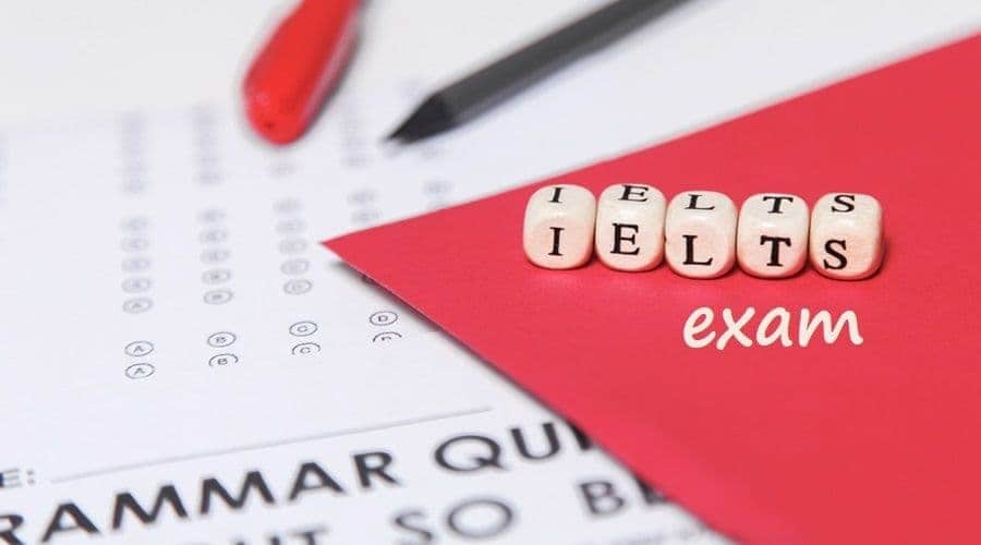 sheet of the IELTS exam questions