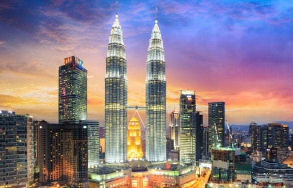 Kuala Lumpur where most of international universities in Malaysia are based